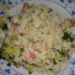 risotto pancetta e brocoli